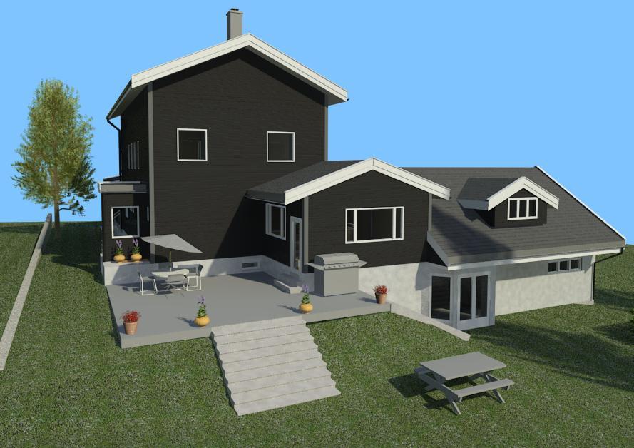 Bygg og arkitekttegning